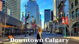 What To See In A Day DOWNTOWN CALGARY | Travel Vlog