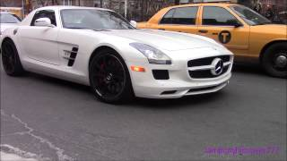 Supercars In New York Vol  19 (2x SLS, 458, Veyron)