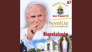 Kazanie Jana Pawla II