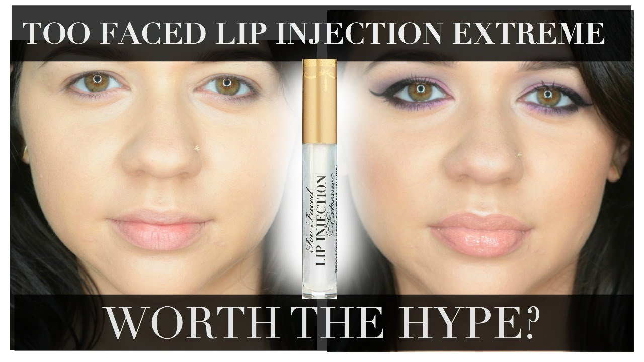 Too Faced Lip Injection Extreme - Worth the Hype? hellocrisst