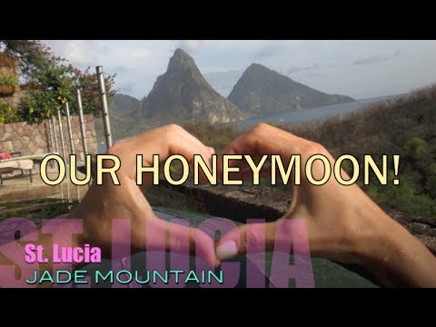 52 Weeks of Beauty - 2014 Week 8 - Our HONEYMOON at Jade Mountain in St. Lucia!