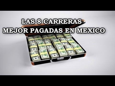 LAS 8 CARRERAS MEJOR PAGADAS EN MEXICO 2016 | ¿QUE CARRERA ESTUDIAR? 2015 | GARYES