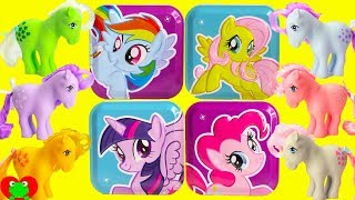 My Little Pony Original 1983 Ponies and Surprise Tins