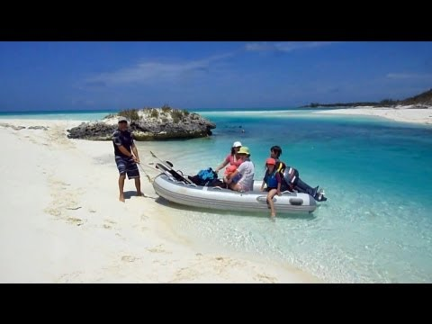 Shroud cay amazing beach in the exumas bahamas youtube sciox Images