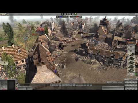 "Men of War: Assault Squad 2 online battle #182: ""Allied Civil War"""