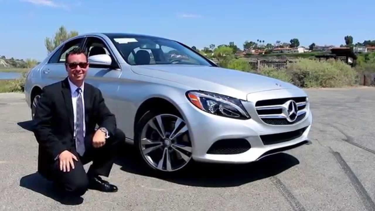 Fletcher Jones Mercedes >> 2015 Mercedes-Benz C300 4MATIC® Sedan - YouTube