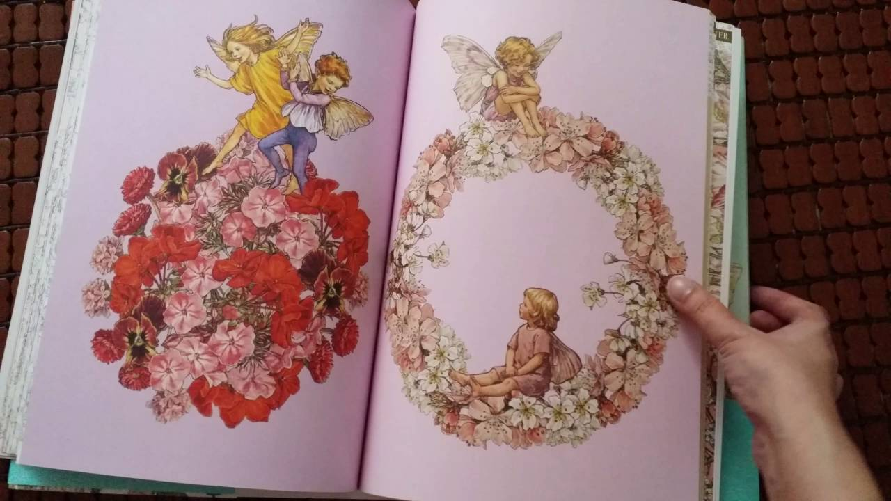 Flower Fairies Coloring Book