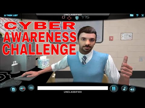 Cyber Awareness Challenge Game