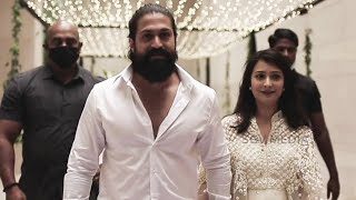 Yash, Sudeep, Puneeth, Upendra Attends Ramesh Aravind's Daughter Marriage | Video