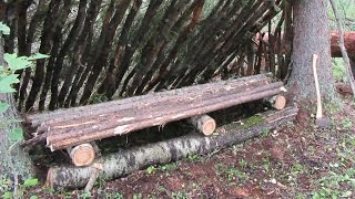 Building A Bushcraft Bed/bench