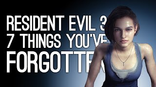 Resident Evil 3: 7 Things You've Forgotten About Resident Evil 3