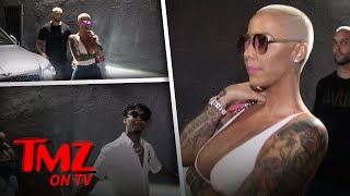 Amber Rose and 21 Savage Spotted Out Together | TMZ TV