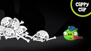 Custom Angry Birds and Bad Piggies Animation: The Island