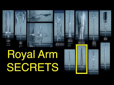 Final Fantasy XV: Royal Arm Secrets (Locations and Kings of Lucis)