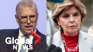 Jeffrey Epstein case: Gloria Allred urges Prince Andrew to speak with U.S. prosecutors
