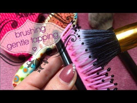 ASMR Brushing Hair Brushes (Request), no talking