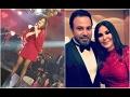 فيديو| اليسا مع عاصي الحلاني بفستان احمر مثير في حفلة عيد الحب ومن اهداها الوردة الحمراء