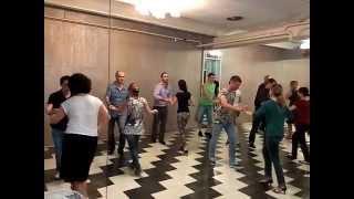 Сальса видео урок - Начинающая группа. 16.06.2015