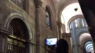 Abrazo al Apostol Santiago de Compostela