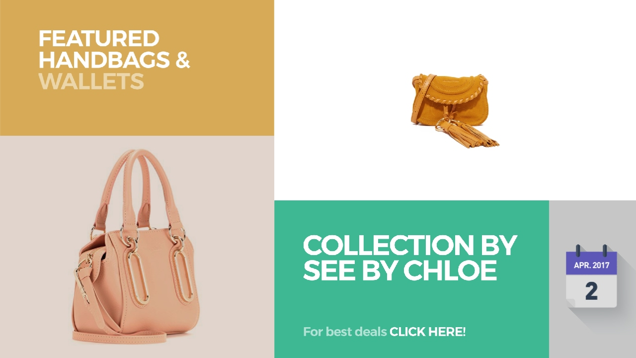 7586ae53aa2 Collection By See By Chloe Featured Handbags   Wallets - YouTube