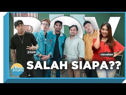 POV - VIA VALLEN VS JERINX SID : SALAH SIAPA?? Feat. GLENN FREDLY & TOMPI