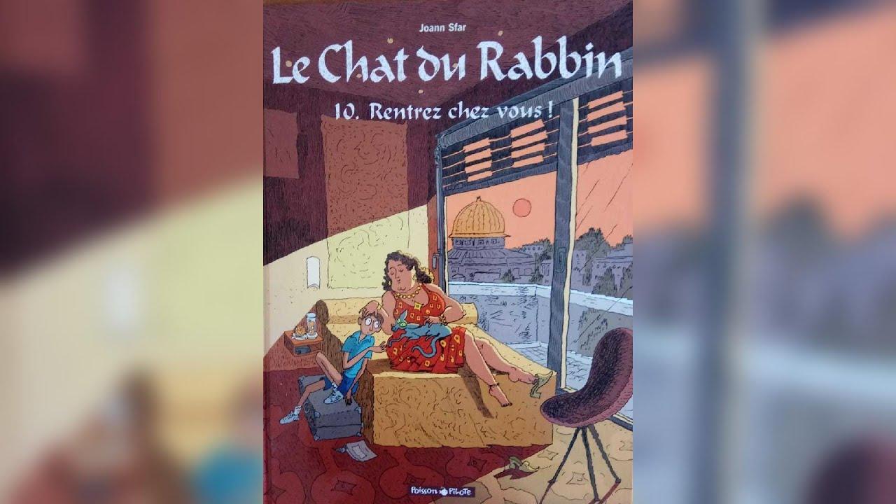 Le chat du rabbin, héros d'un 10e album - Le Sepher du Libraire#84