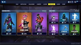 Power Chord & Rebel Skins Back! Fortnite Item Shop May 11, 2019