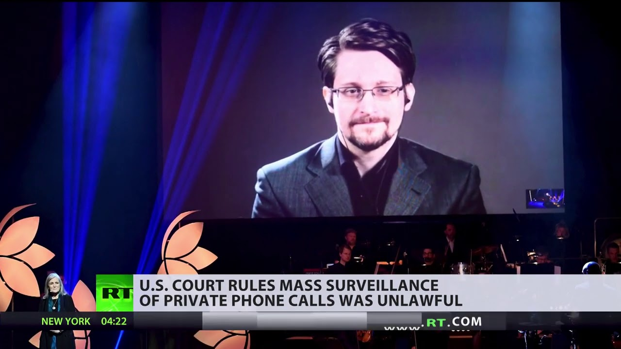 SNOWDEN WIN! - US Court Says NSA Harvest of Americans' Phone Data Is ILLEGAL!!
