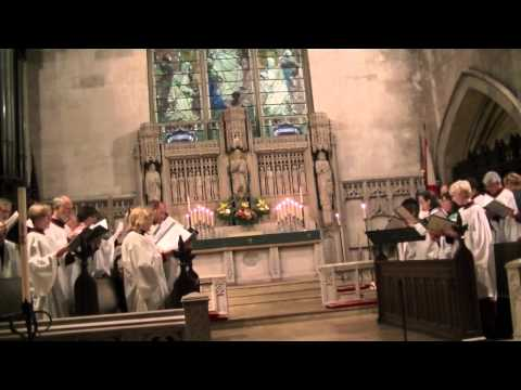 Choral Evensong for the Feast of the Conversion of St Peter the Apostle, 20 January 2013.
