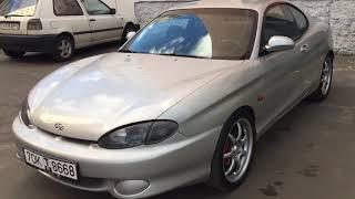 Hyundai coupe 1999 года 1.6