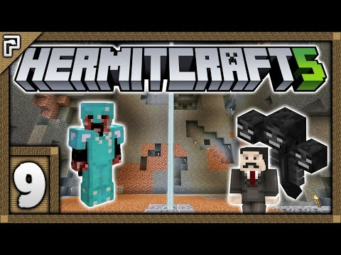 🐚 Hermitcraft 5 | Let's Play Minecraft Survival | FULL TIME Hermit! Wither, Gear & Digging! [#9]
