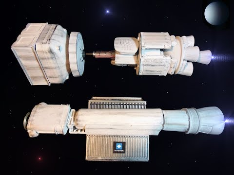 Space Cargo Ship and Fuel Refining Ship