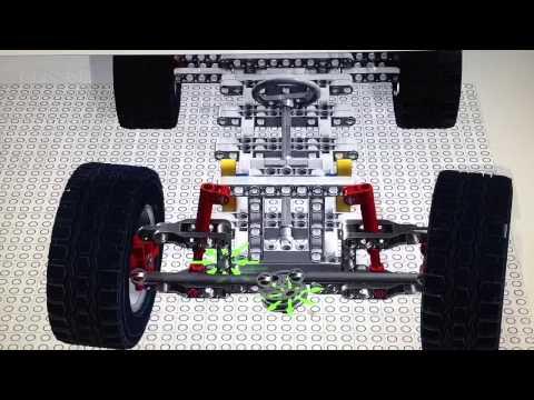 Lego LDD car steering