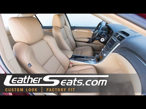 2004-2008 Acura TL Base Seats | Custom Leather Interior Upgrade | LeatherSeats.com