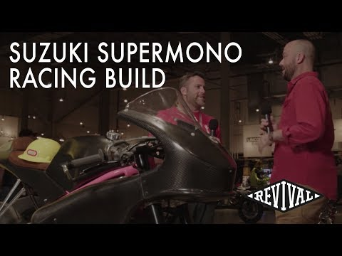 Suzuki Supermono Class Racing build - An interview with Tim Harney