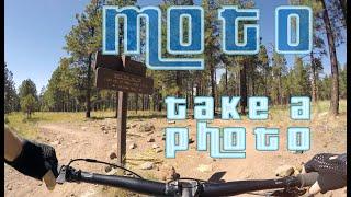 3 Miles Down - MOTO trail Flagstaff