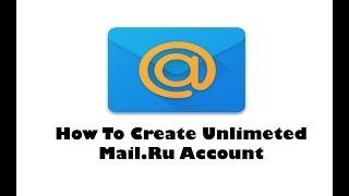 كيفية إنشاء Unlimeted Mail.Ru حساب || 100%العمل ||البنغالية التعليمي || A-Z Ltd
