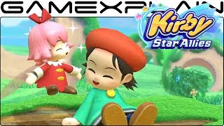 A new trailer for Adeleine & Ribbon in Kirby Star Allies has releas...