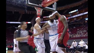 DeMarcus Cousins and Markieff Morris Got Into A Scuffle