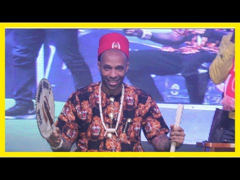 Thierry henry given nigerian honour and handed new name as football royalty