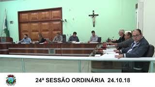 Sessão da Câmara 24.10.18