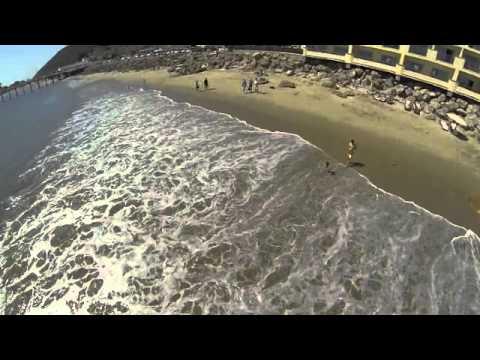 MALIBU BEACH FLY OVER