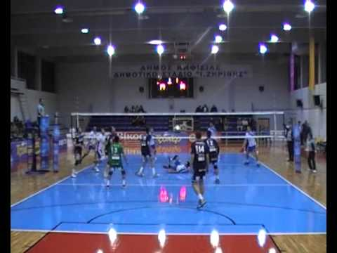 Greece volleyball A1 Kifissia - Alexandroupolis 21.12.2014