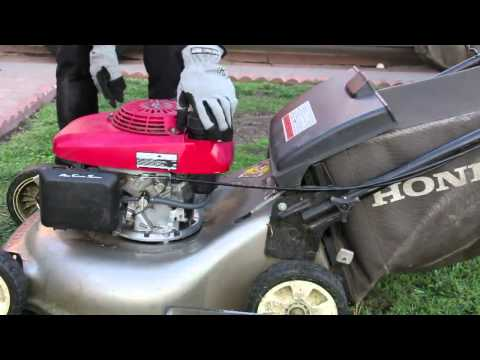How To Store Gas Lawn Mowers
