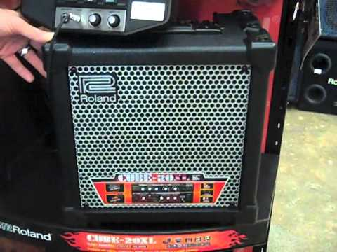 Roland Cube Display / The Music Store PR