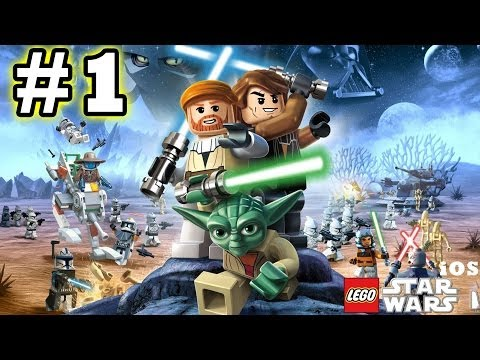 Lego Star Wars #1 (The Complete Saga) Phantom Menace - Negotiations (iOS Gameplay)