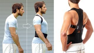 Top Adjustable Magnet Posture Corrector / Back Corset Belt Straightener / Brace Shoulder Corrector
