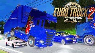 Дураки и Дороги - 100к на Ремонт - Euro Truck Simulator 2 Multiplayer