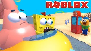 EU SOU O BOB ESPONJA no ROBLOX Spongebob Movie Adventure DX Directors Cut