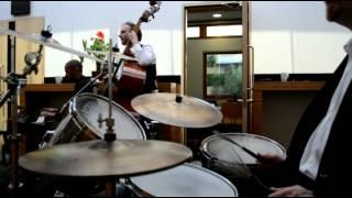 EastSide Jazz Trio - Xmas corporate gig at The Moller Centre, Cambridge